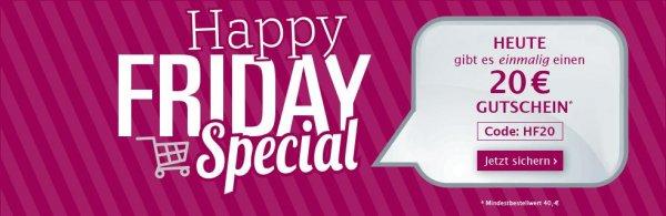 HAPPY FRIDAY SPECIAL bei www.Klingel.de  funktioniert immer noch