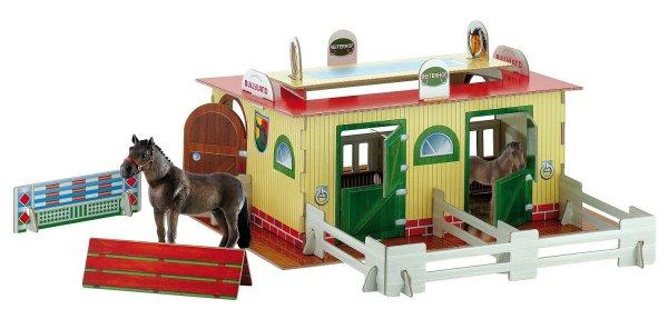 Bullyland 80795 - Spielset - Reiterhof mit Westfalen Stute und Fohlen für 7,11€ bei Amazon (Prime)