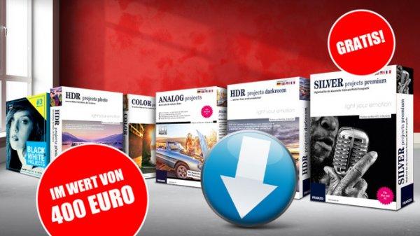 Computerbild: MEGA-Bildbearbeitungspaket im Wert von 4oo,- Euro für lau!