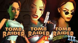 [PC] Steam Key Tomb Raider I,II & III Für 0,95€