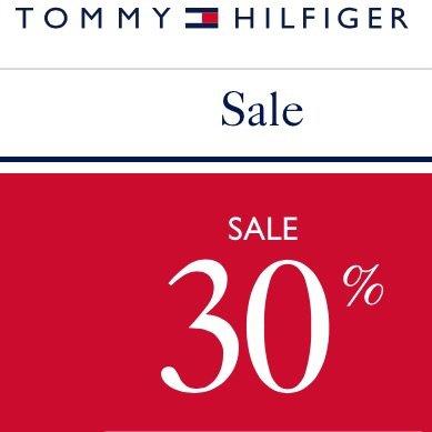 Tommy Hilfiger: 30% Nachlass (online+offline) auf gesamte Fall/Winter-Kollektion, weitere 10% Rabatt durch Newsletter-Anmeldung, kostenlose Lieferung