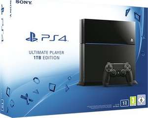 [ink24] Sony PlayStation 4 PS4 Ultimate Player Edition 1TB black