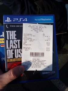 [Lokal-Forchheim] Last of us remastered PS4 @ AlphaTecc Forchheim