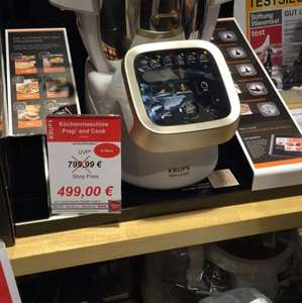 [Lokal Zweibrücken] Krups Prep&Cook Küchenmaschine | B Wäre | Idealo: 640€