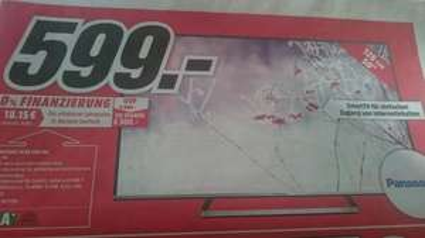 [lokal Mediamarkt Ingolstadt] Panasonic TX 50 CSW 524 (50 Zoll) für 599 €