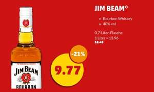 [Penny] Jim Beam Sour Mash /  Red Stag / Honey 0.7L für 9,77€