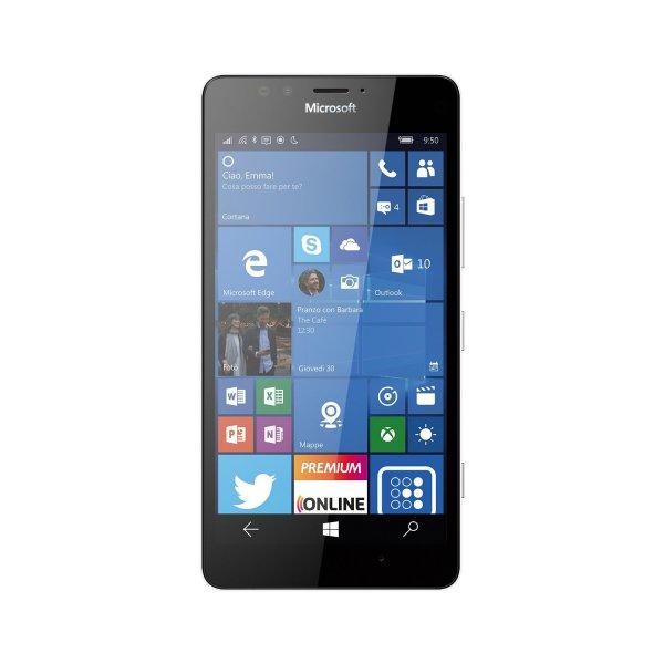 Microsoft Lumia 950 (Schwarz/Weiß) @Amazon.it