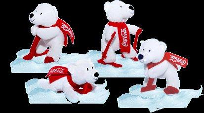 (Coke.de) 1 von 11.100 Polarbären zu gewinnen
