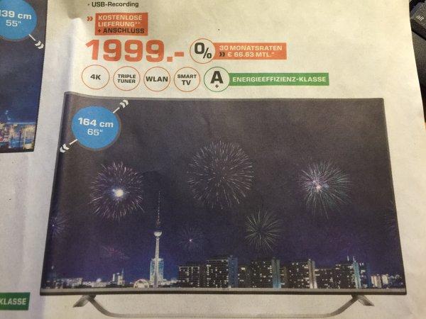 [Lokal Heidelberg]LG LED-TV 65UF8009 für 1999 Euro
