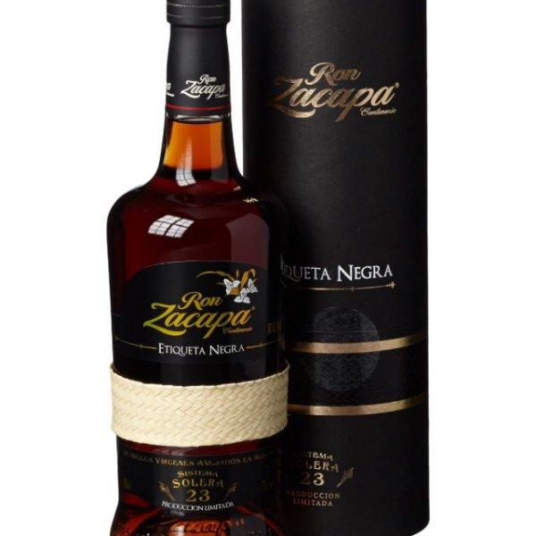 Ron Zacapa Sistema Solera 23 Etiqueta Negra Rum Amazon