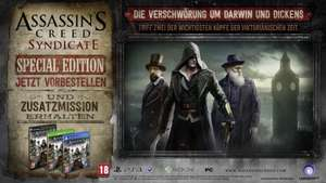 [HD Gameshop] 49,00 € für Assassin's Creed Syndicate Special Steelbook Edition PS4 (100% Uncut) + Far Cry 4 (100% Uncut) [Playstation 4]