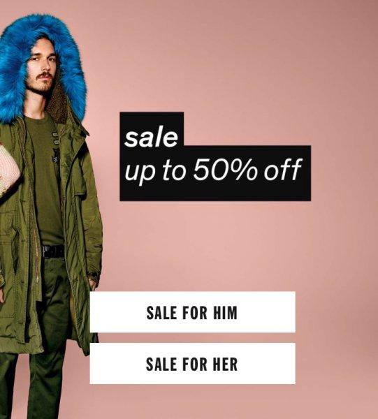 Diesel.com - bis zu 50% Sale (Herbst/Winter Kollektion) und Kostenlose Lieferung