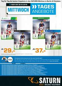 [Saturn] Berlin&Potsdam Fifa 16 ps3/xbox360 29€ Ps4/xBoxOne 37