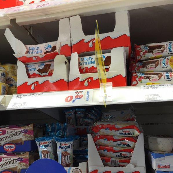 5er pack Milch Schnitte 0,60€ bei Real in Hemmingen (Lokal)