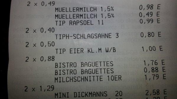 Eier 10er für 0,50€ bei Real in Langenfeld