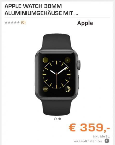 Apple Watch Sport 38mm / Bestpreis bei Saturn / EDIT: 42mm auch Günstiger !