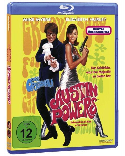Blu-ray - Austin Powers ab €3,94 [@Saturn.de/Amazon.de]