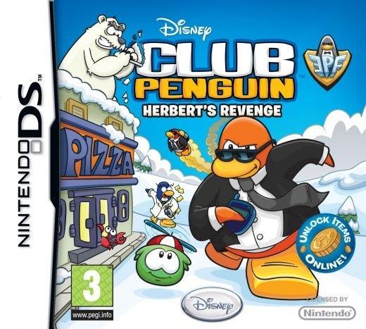 Club Penguin: Elite Penguin Force - Herbert's Revenge Nintendo DS