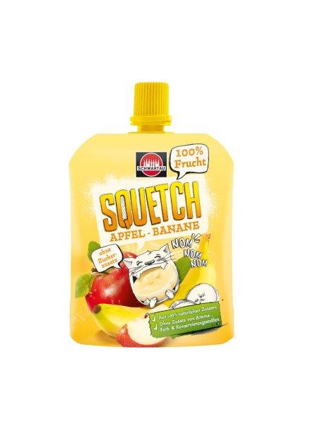 Amazon Prime: Squetch Apfel-Banane, 12er Pack (12 x 90 g) für 7,26 Euro