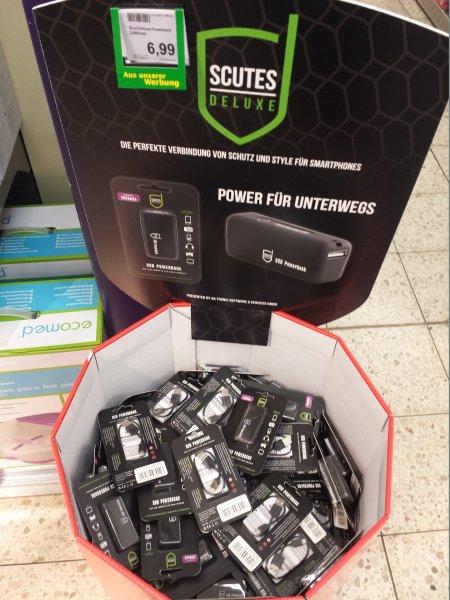(Lokal Marktkauf) Scutes Deluxe USB Powerbank 2600mAh mit Micro USB Kabel