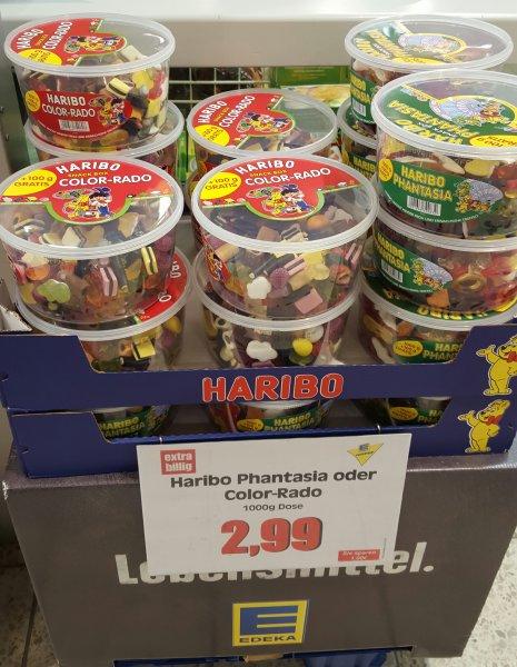 [Edeka] 1,1 kg Haribo Dose Phantasia/Color-Rado