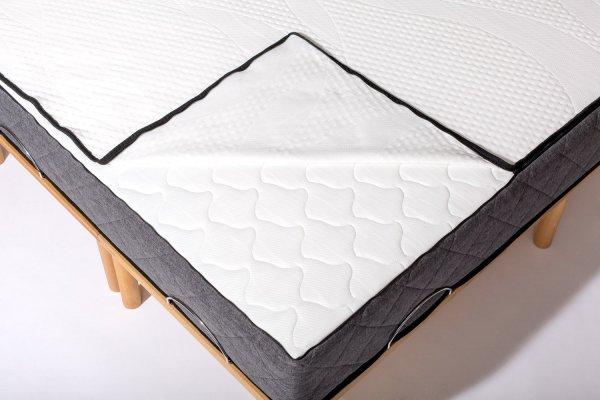 [amazon.de] Matratze 140x200 cm ratio3 von Gigapur inkl. 2 Bettlaken / 326,00€ Gutschein