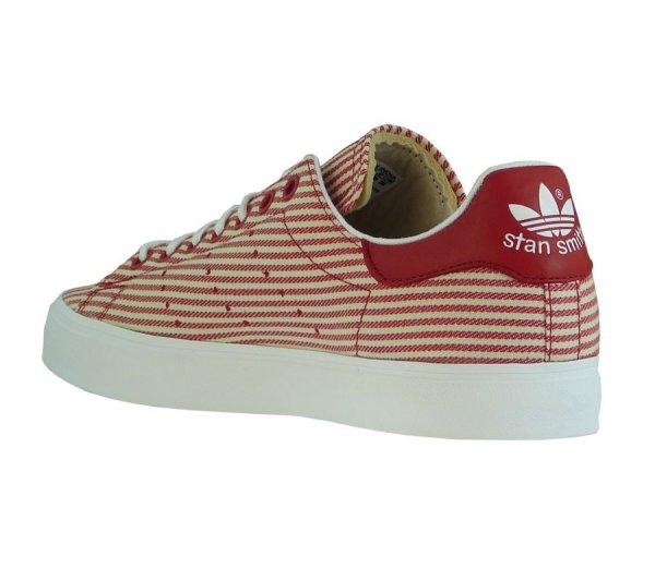 adidas Stan Smith Vulc Sneaker Unisex Turnschuhe Rot-Beige M17190 für 26,99 €