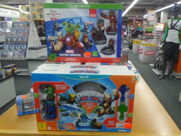 [LOKAL] Schenefeld - MediMax - Skylander Trap Team/Disney Infinity 2.0 - 20 €