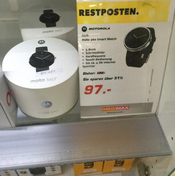 Motorola Moto 360 Smart Watch für 97€