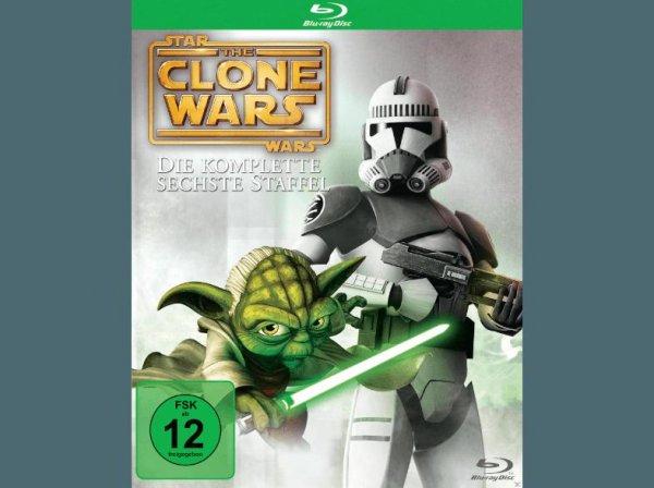 Star Wars Clone Wars Staffel 6 BluRay - 14,90 EUR - MediaMarkt Straubing (Lokal?)