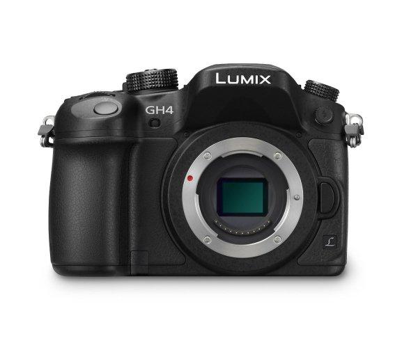 Panasonic Lumix DMC-GH4EG-K Systemkamera Gehäuse (16 Megapixel, 7,5 cm (3 Zoll) OLED Touchscreen, 4K/UHD-Aufnahme, Utra-Higspeed Autofokus, optische Bildstabilisierung, WiFi, NFC) schwarz