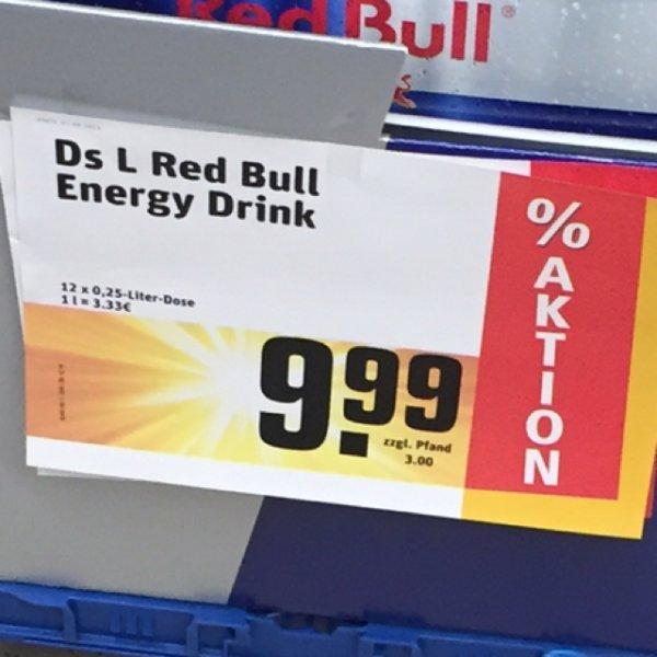 [lokal Rewe]12er Red Bull 0,25l für 9,99€/10er Effect 0,33l für 5,90€/Rotkäppchen 2,65€