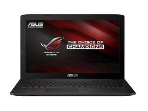 [Amazon] Asus GL552JX-CN154H 39,6 cm (15,6 Zoll) Notebook (Intel Core i7 4720HQ, 8GB RAM, 1TB HDD+ 128GB SSD, NVIDIA GF GTX 950M, DVD, Win 8.1)
