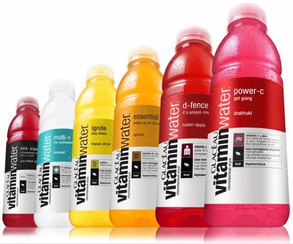 (LOKAL mit MHd) Vitamin Water 66% billiger plus 2 für 1