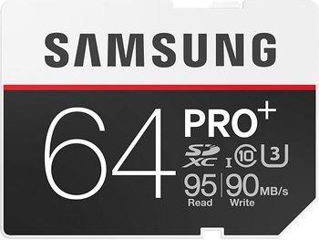 Samsung Speicherkarte SDXC 64GB PRO Plus UHS-I Grade U3 für 39,90€ @ Amazon
