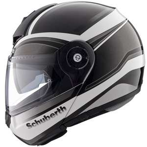 Schuberth C3 Pro Klapphelm Intensity Silver Titanium