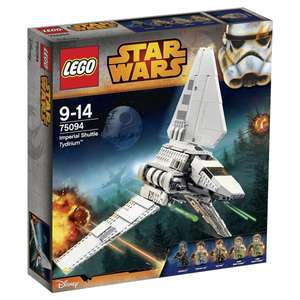 LEGO 75094 Star Wars - Imperial Shuttle Tydirium @Amazon 70,99