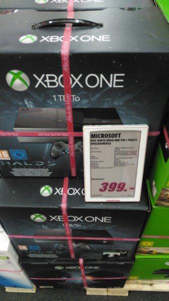 [Mediamarkt Berlin Wedding] Xbox One limited Edition Halo 5 mit 1Tb für 399€