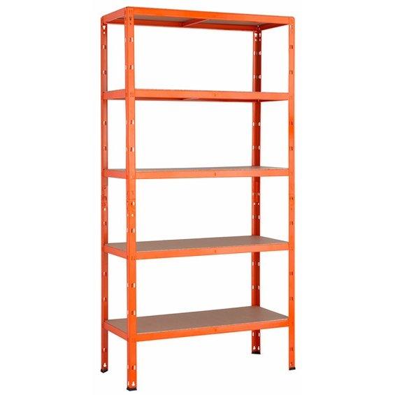 [Bundesweit] Obi Metall-Schwerlast-Steckregal Orange 180 cm x 90 cm x 40 cm, 100kg a Boden