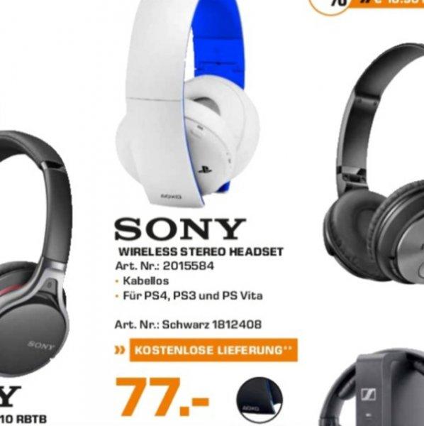 [Lokal] Saturn Hamburg: PS4 Wireless Headset 2.0