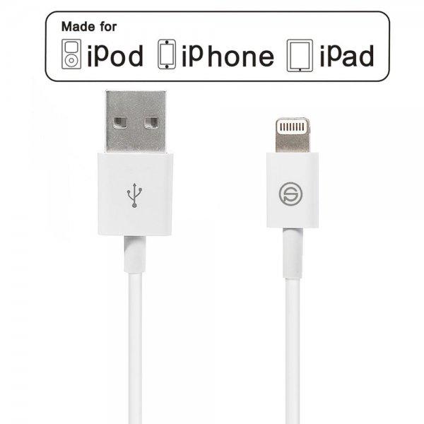 Amazon.de [Apple MFI zertifiziert] OPSO Apple Lightning auf USB Kabel Sync- & Ladekabel Lightning USB Datenkabel Ladekabel mit 8 Pin Stecker für Apple iPhone 6 Plus / 6 / 5 / 5S / 5C, iPad Air 2 / iPad Air / Mini 3 / Mini 2 / Mini / 4 ,iPod Touch