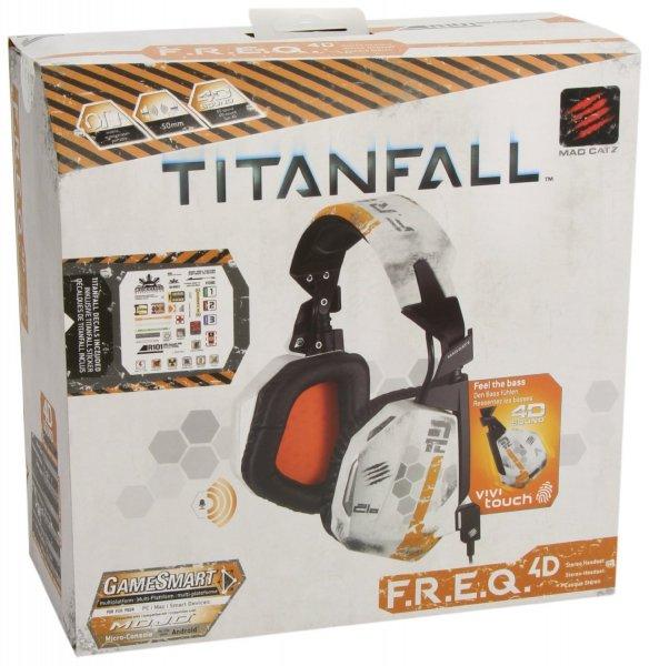 [Amazon.de-Prime] Mad Catz F.R.E.Q.4D Headset, Titanfall Design