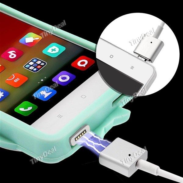[CN] magnetisches Ladekabel für Micro-USB 1m Standard & upgraded (für Geräte mit Hülle) ab 3.26€ @ Tinydeal
