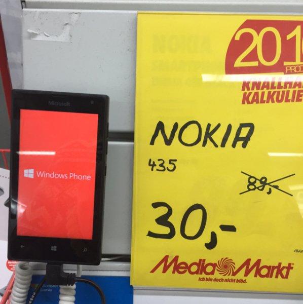 [Lokal] Mediamarkt Belm Osnabrück Nokia Lumia 435