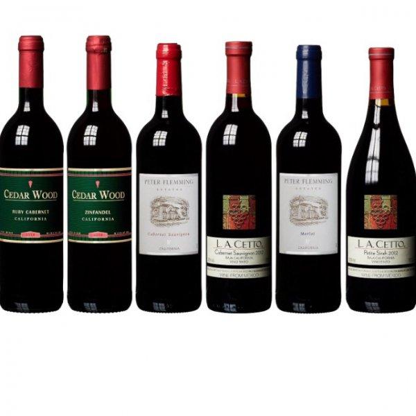 Wein Probierpaket 6 Flaschen Amazon