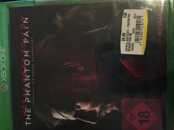 [MM Berlin] Metal Gear Solid 5: The Phantom Pain [XB1] für 29,00€