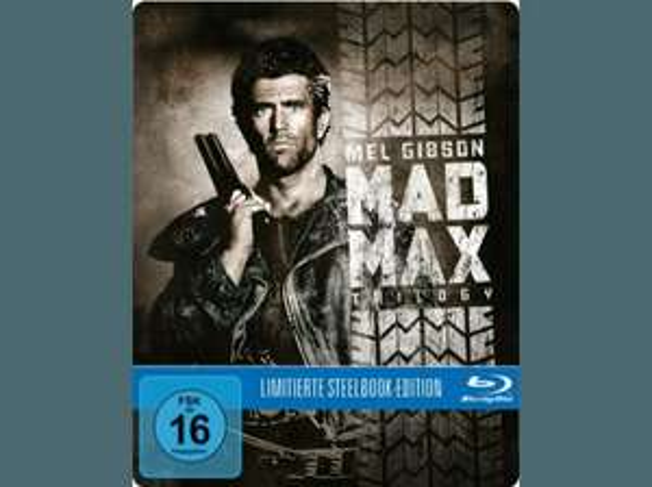 Mad Max Trilogie (Exklusive Steelbook Edition) - (Blu-ray) + Mad Max 4 Gratis 24,99€ bei Saturn Vergleich bei 35€