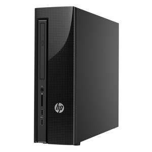 [notebooksbilliger.de] HP Slimline Desktop Computer 450-a111ng - AMD A6-6310 Quad-Core (4x 1,8GHz, 2,4 GHz Turbo), 4GB RAM, 500GB HDD, AMD Radeon R4, DVD-RW, 2x USB 3.0, FreeDOS - 179 Euro