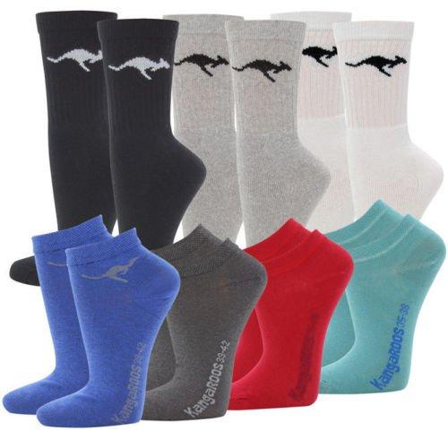 18 Kangaroo Socken Sportsocken & Sneaker für Damen und Herren für 17,95€ inkl. Versand @Ebay WOW