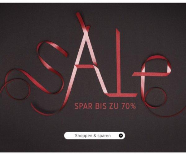 Bis zu 70% bei Frontlineshop im Sale!
